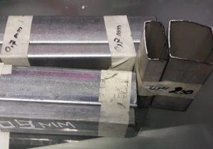 ukuran besi hollow gypsum galvanis